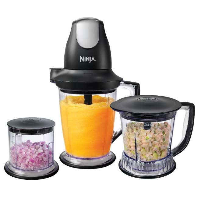 Ninja QB1004 Professional Master Prep Blender and Food Processor (Refurbished)