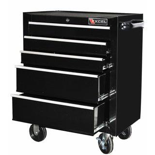 Excel 26-inch Five-drawer Roller Cabinet