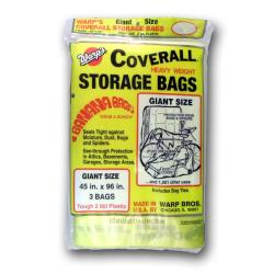 Warp's Banana Coverall Storage Bags Case