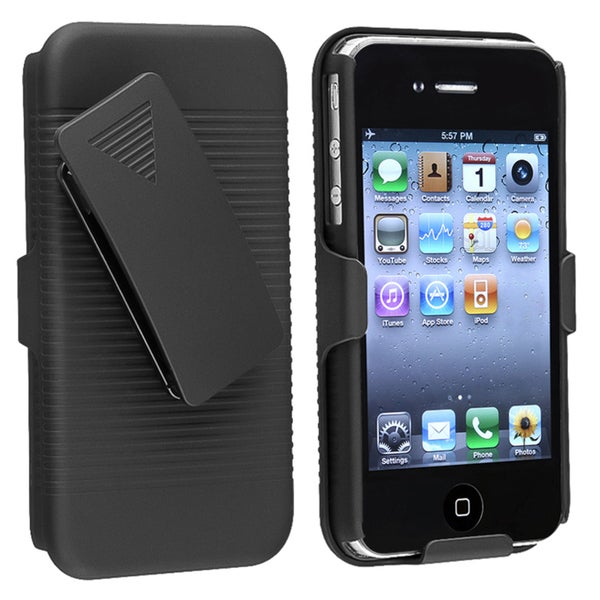 INSTEN Swivel Holster w/ Stand for Apple iPhone 4S/ 4