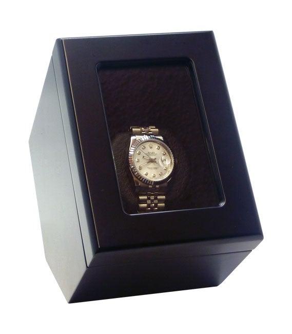Heiden Prestige Black Single Watch Winder