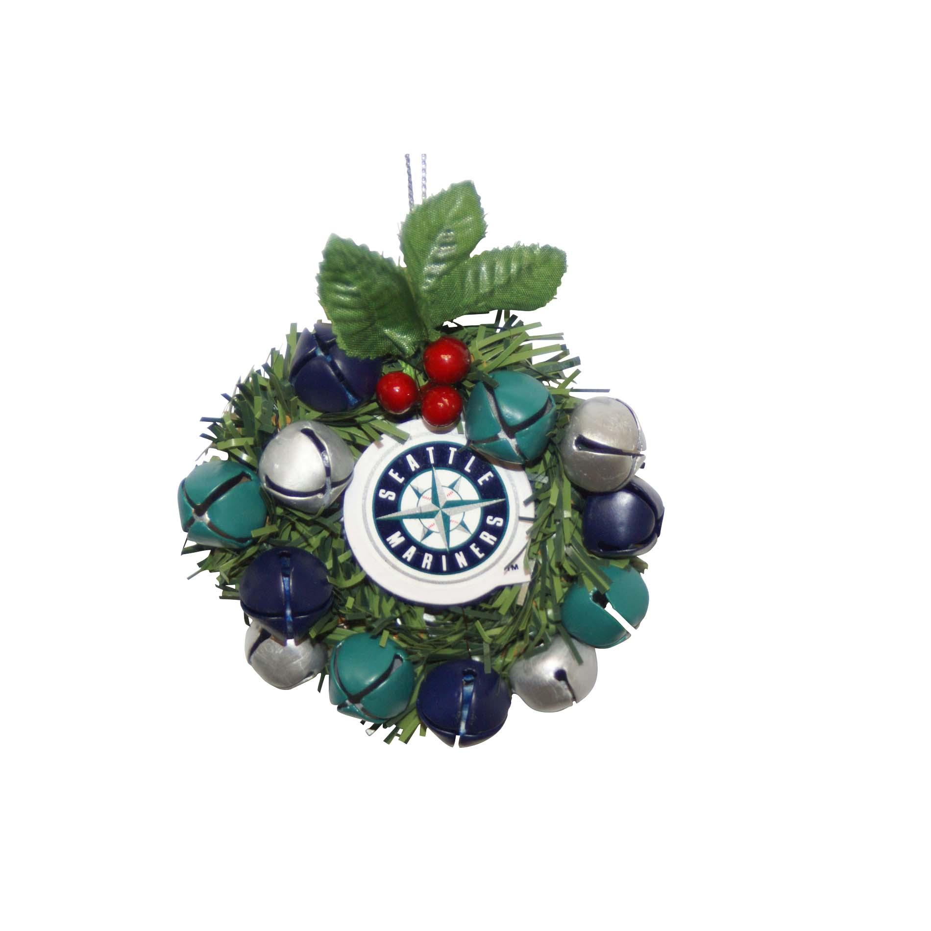 Seattle Mariners Wreath Ornament