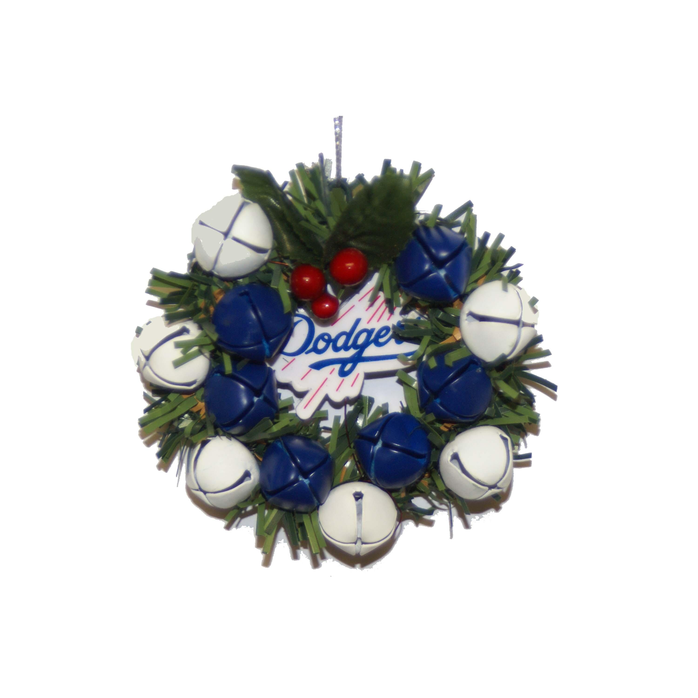 Los Angeles Dodgers Wreath Ornament