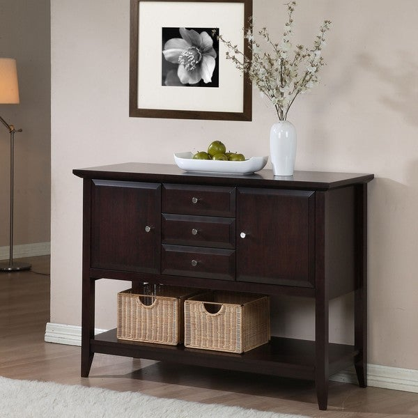 Coventry 2-door 3-drawer Buffet