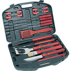 KitchenWorthy 18-piece Deluxe BBQ Tool Set