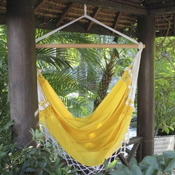 Cotton 'Salvador Sun' Hammock Swing (Brazil)
