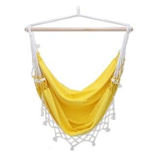 Cotton 'Salvador Sun' Hammock Swing (Brazil)