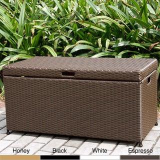 Wicker Patio Storage Deck Box