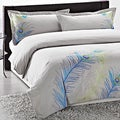 Peacock Embroidered 3-piece Duvet Cover Set