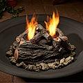 Real Flame Gel-burning Outdoor Log Set