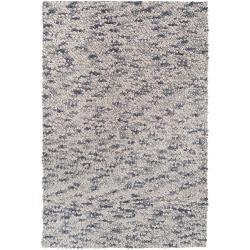 Hand-woven Georgetown New Zealand Wool Plush Shag Rug (5' x8')