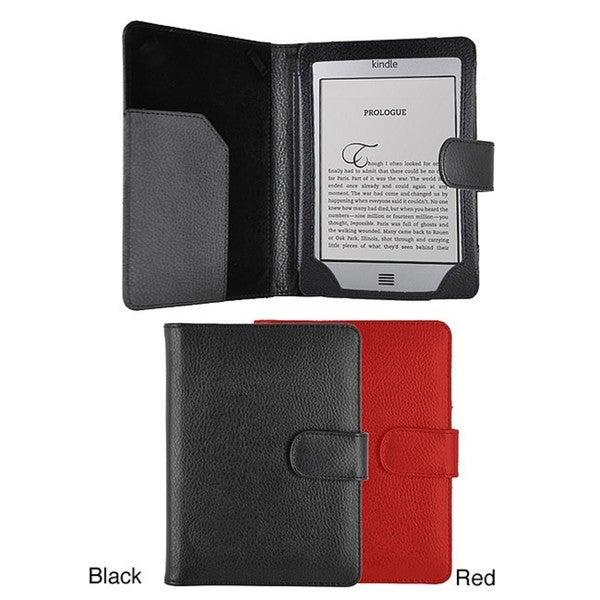 Premium Amazon Kindle Touch 4 Portfolio Leatherette Case