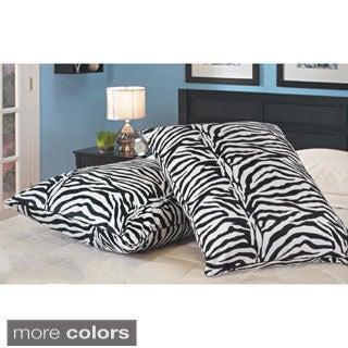 Kids Comfort Plush Oversized Lounge Pillows (Set of 2)