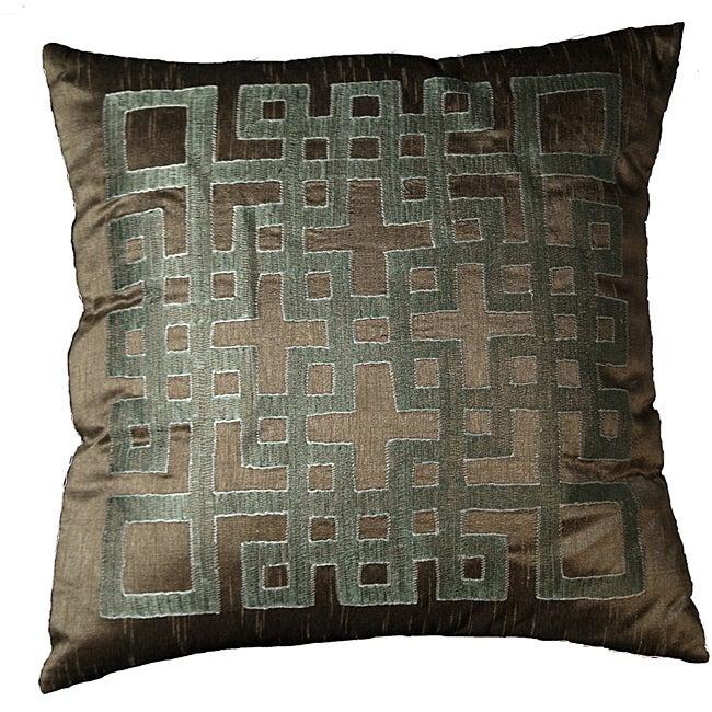 LNR Home Geo-ando Mole 18-inch Pillow