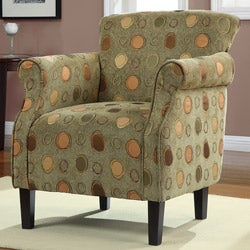 Tiburon Grasshopper Green Arm Chair