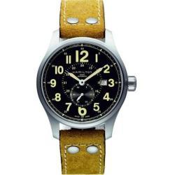 Hamilton Men's H70655733 Khaki Field Officer Automatic Small Second Silvertone Watch
