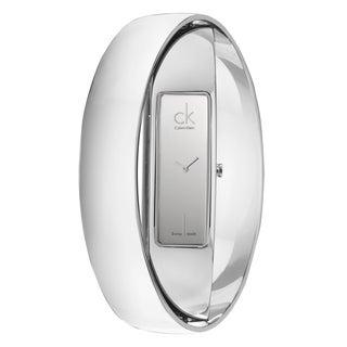 Modern Calvin Klein Women's 'Element' Stainless-Steel Quartz Watch