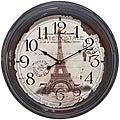 Casa Cortes Republique Francaise Metal Wall Clock