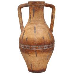 Porto Fino Distress Terra Cotta Tall Ceramic Vase