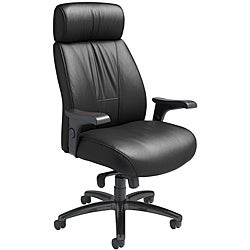 Nightingale Presider Leather Plus High Back Office Chair with Headrest