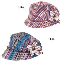 Cotton Hand-made Flower Cap (China)