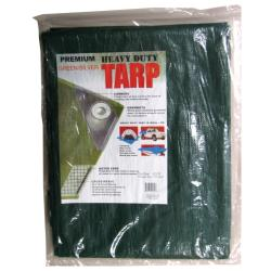 Kotap Heavy Duty Poly Tarp Green/Silver (16'x20')