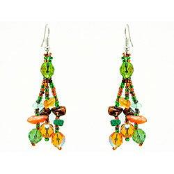 Earrings Luzy Foilage Earings (Guatemala)