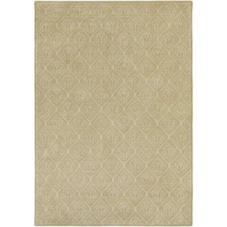 Candice Olson Hand-tufted Sarcelles Contemporary Geometric Wool Rug (9' x 13')