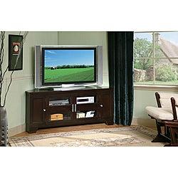 William's Home Furnishing 60-inch Corner TV Stand