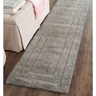 Safavieh Casual Ultimate Dark Grey Shag Rug (2'3 x 7')
