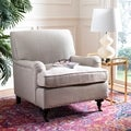 Safavieh Nottingham Taupe Nailhead Club Chair