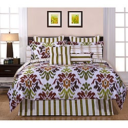 Montgomery 12-piece Full-size Bed in a Bag with Sheet Set