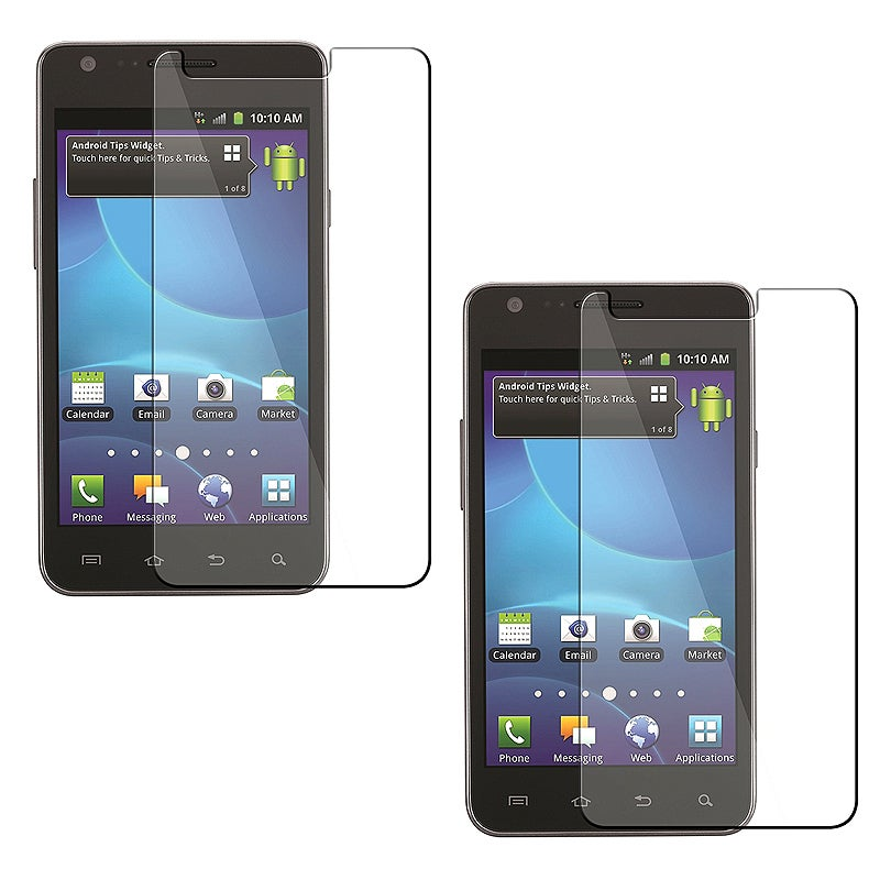 INSTEN Clear Screen Protector for Samsung Galaxy S2 Attain i777 AT&T (Pack of 2)