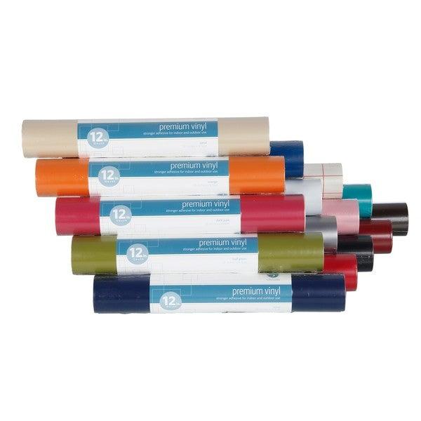 Silhouette Premium 12-Inch Vinyl/Adhesive Rolls