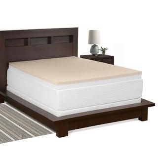 Select Luxury Restore-a-Mattress 3-inch Memory Foam Mattress Topper