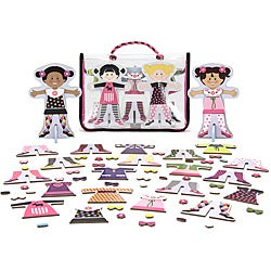 Melissa & Doug Tops and Tights Magnetic Dress-up Play Set