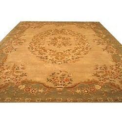 Hand Tufted Wool Mumtaj Rug (8' 9 x 11' 9)