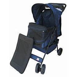Go Pet Club Blue Pet Stroller
