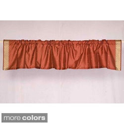 Sari Fabric Decorative Valances (India) (Pack of 2)
