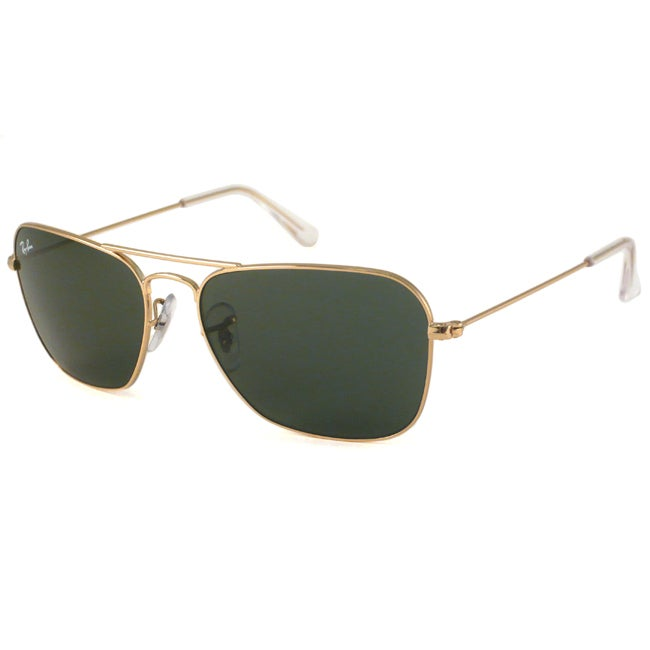 Ray-Ban RB3136 Men's Caravan Aviator Sunglasses