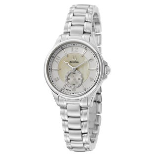 Bulova Women's Stainless Steel Round Watch