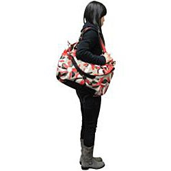 Amerileather Flora Leather Tote Bag