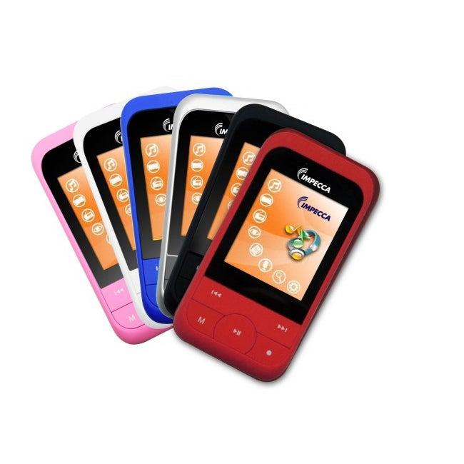 Impecca MP1827 2GB Flash Memory Digital Media Player with Sleep Mode