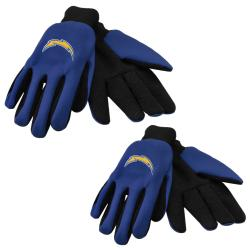 Forever Collectibles San Diego Chargers Two-tone Gloves (Set of 2 Pair)