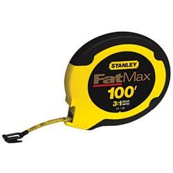 Stanley 100-foot Fat Max Tape Measurer