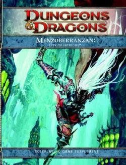 Menzoberranzan: City of Intrigue (Hardcover)