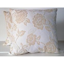 RLF Home Brocade Decorative Pillows (Set of 2)