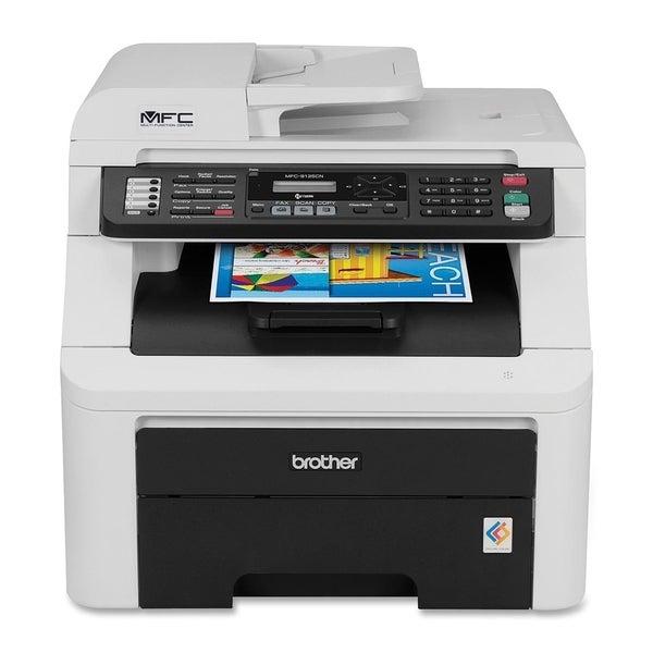 Brother MFC-9125CN LED Multifunction Printer - Color - Plain Paper Pr