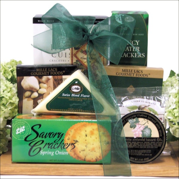 Cheese Board Treats Gourmet Gift Set