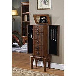 Caman Six-Drawer Jewelry Armoire